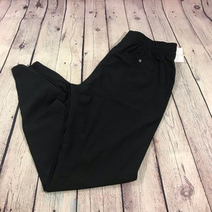 NWT Marika Black Dry-Wik Joggers Size M